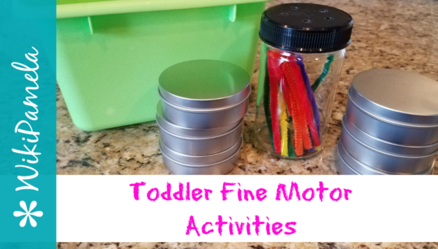 Toddler Fine Motor Skill Activities from Dollar Tree
