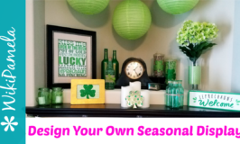 Easy and Beautiful Seasonal Mantel Decor